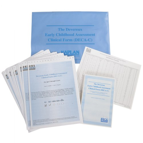 Devereux Early Childhood Assessment Clinical (DECA-C) Kit