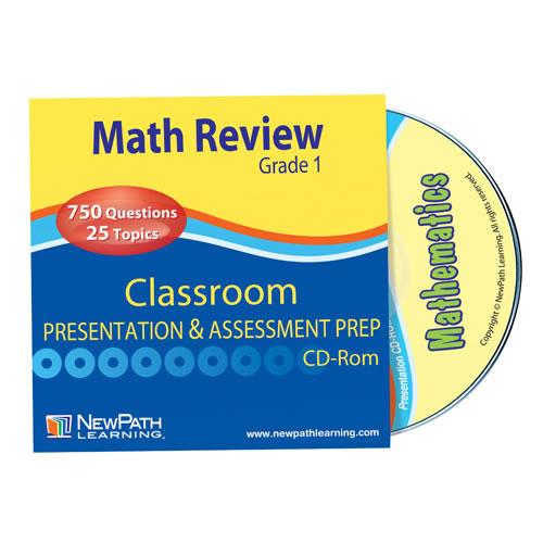 Math Interactive Whiteboard Software - Grade 1