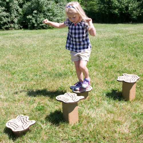 Stepping Stools - Log Design