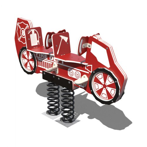 2-Seat Fire Truck Bouncer