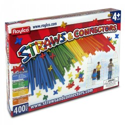Straws and Connectors - 400 Pieces
