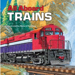 All Aboard Trains - Paperback