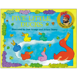 Five Little Ducks - Paperback