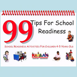 99 Tips For School Readiness