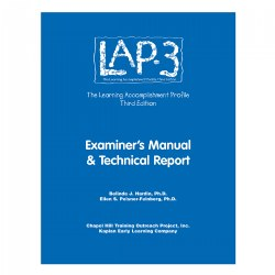 LAP-3™ Technical Manual & Technical Report, 3rd Edition