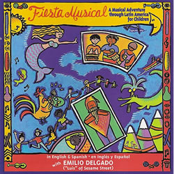 Fiesta Musical CD - A Musical Adventure Through Latin America for Children