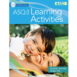 ASQ-3™ Learning Activities - Paperback with CD-ROM