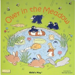 Over in the Meadow - Board Book