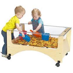 See Thru Sensory Sand U0026 Water Table   Toddler Height