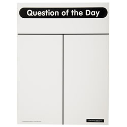 Question of the Day Dry Erase Board
