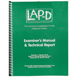 LAP-D™ Examiner's Manual & Technical Report, 3rd Edition