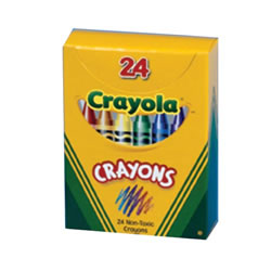 Crayola® 24-Count Crayons - Standard (Single Box)