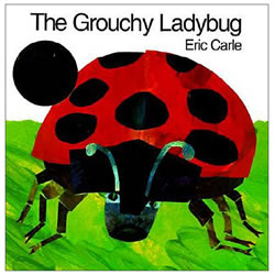 The Grouchy Ladybug - Paperback Book