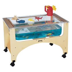 Sand and Water Table - See Through Sensory Table