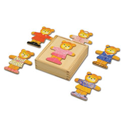 Bear Dress Up Puzzle