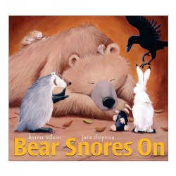 Bear Snores On - Board Book