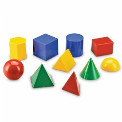 Large Geo Shapes - Set of 10