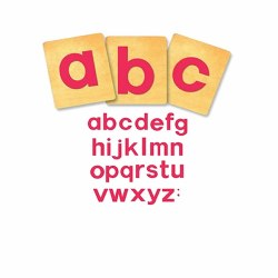 "SureCut Dies - 4"" Block Alphabet Lowercase Letters Large Dies (Set of 26)"