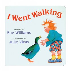 I Went Walking - Board Book