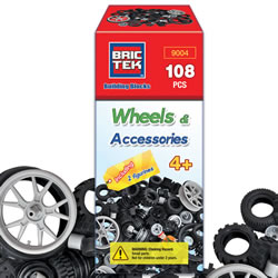 Brictek® Building Blocks Wheels & Accessories
