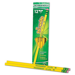 Ticonderoga® TriWrite #2 Pencil (Set of 12 Pencils)