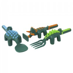 Constructive Eating Dino Themed Meal Accessories