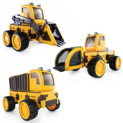 PowerClix® Bluetooth® Construction Vehicles Set