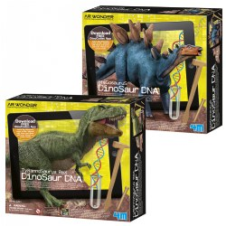 4M T-Rex and Stegosaurus Dinosaur DNA Kit