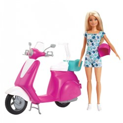 Barbie® Doll & Scooter