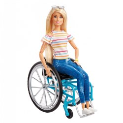 Barbie® Fashionistas Doll with Wheelchair