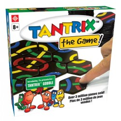 8 years & up. Become the ultimate strategist by racing to connect the paths and solve the puzzle! Tantrix is a faced-paced, strategic game that features 25 different puzzle challenges  Players try to connect the longest line or loop of their chosen color. As you connect more tiles, the more wild and serpentine the paths grow. Block or detour an opponent's path with clever moves. For 1 to 6 players. Included: 56 Tiles, Instruction Booklet, and Nylon Game Bag.