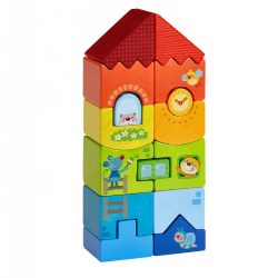 Toddler Block Building - Animal High Rise