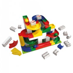 Marble Run Basic Building Box - 123 Pieces