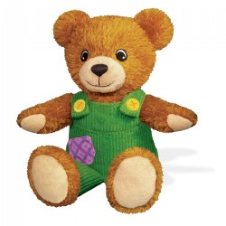 "My Friend Corduroy Bear 7.25"" Sitting Soft Plush Toy"
