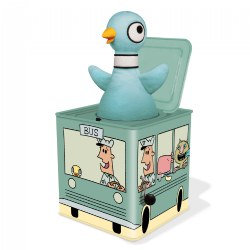 The Pigeon Jack-in-the-Box Bus