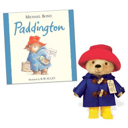 "Paddington Bear Hardback Book & 10"" Plush"