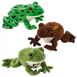 "Frog Watch 7"" Frogs with Sound (Set of 3)"