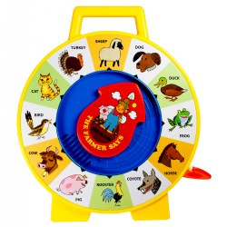 Fisher Price® See 'n Say Farmer Says Farm Animal Recognition