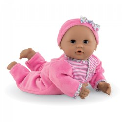 "Mon Premier Bebe Calin Maria 12"" Doll With Posable Body"