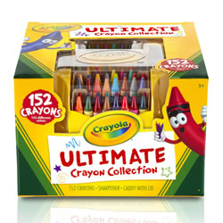 Crayola® Ultimate Crayon Case (Set of 152)