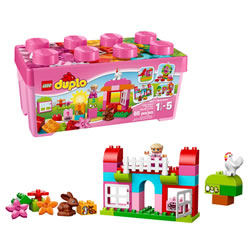 LEGO® DUPLO® All In One Box Pink (10571)