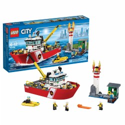 LEGO® City Fire Boat (60109)