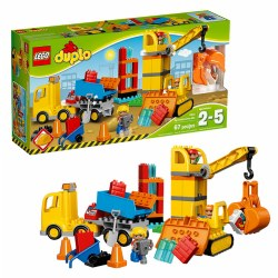 LEGO® DUPLO® Town Big Construction Site (10813)