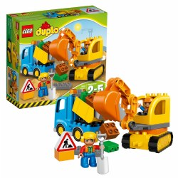 LEGO® DUPLO® Town Truck & Tracked Excavator (10812)