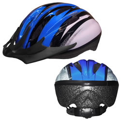 Child's Bike Safety Helmet Size Medium - Blue