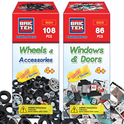 Brictek® Wheels, Windows & Doors Set