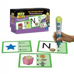Hot Dots® Phonics Readiness & Hot Dots® Pen Set
