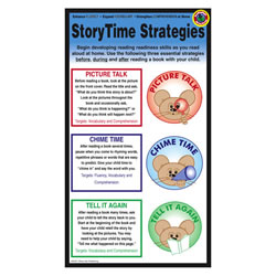 Story Time Strategy Home Literacy Cards (Pack of 10)