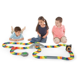 Kidoozie Deluxe Build-A-Road Track Set