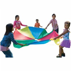 6' Parachute with Handles and Carry Bag